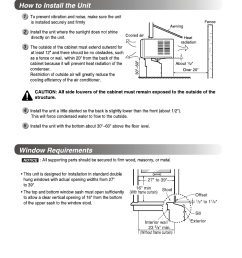 b installation how to install the unit window requirements installation lg lw1010er [ 954 x 1367 Pixel ]