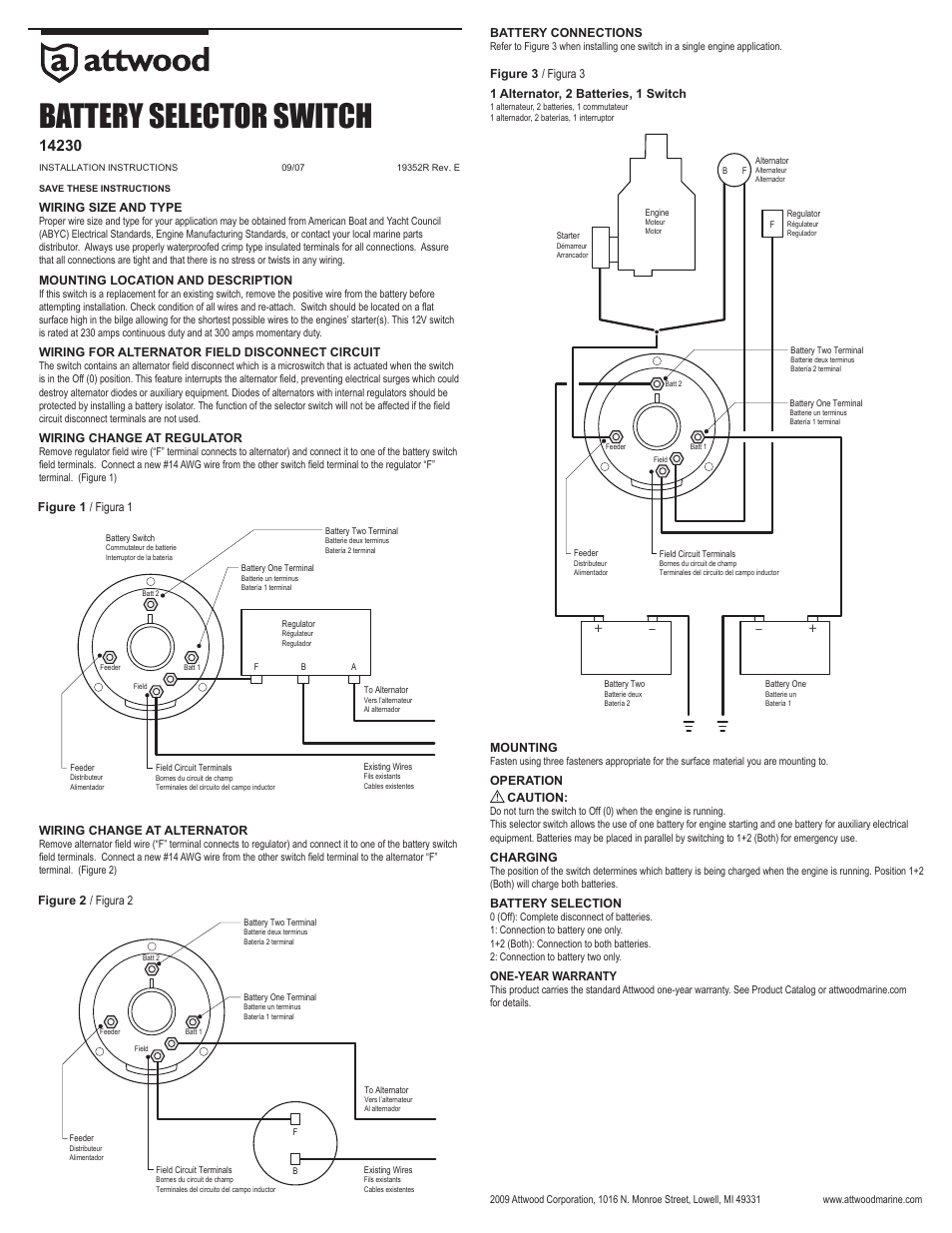 [DIAGRAM] Guest Marine Battery Selector Switch Wiring