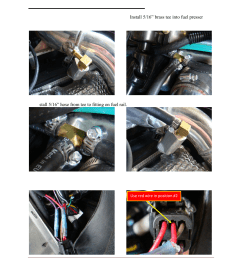 step 6 install auxiliary fuel injector boondocker arctic cat z1 turbo upgrade user manual page 7 8 [ 954 x 1235 Pixel ]