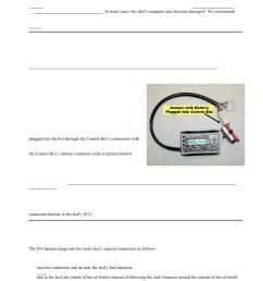 ii control box harness connectors iii battery jumper connector iv  [ 954 x 1235 Pixel ]