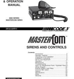 code 3 siren wiring diagram wiring diagrams bib svp  [ 954 x 1235 Pixel ]
