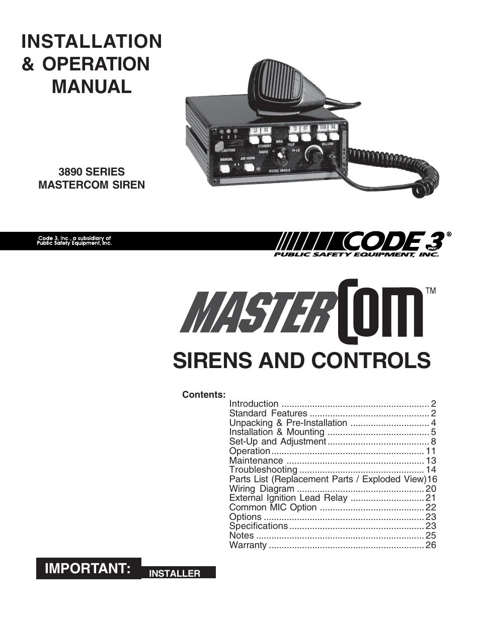 medium resolution of code 3 siren wiring diagram wiring diagrams bib svp