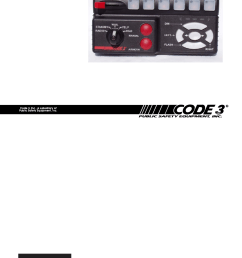 code 3 rls user manual 28 pagescode 3 siren wiring diagram 4 [ 954 x 1235 Pixel ]
