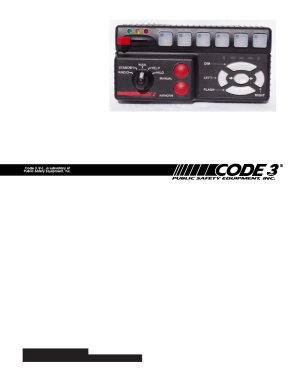 Code 3 RLS User Manual | 28 pages