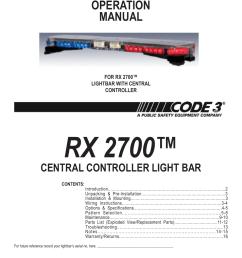 code 3 wiring diagram detailed wiring diagramcode 3 rx 2700cc user manual 16 pages code alarm [ 954 x 1235 Pixel ]