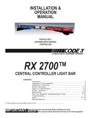 Unitrol Touchmaster Wiring Diagram  federal signal sw400ss lightning switch box youtube