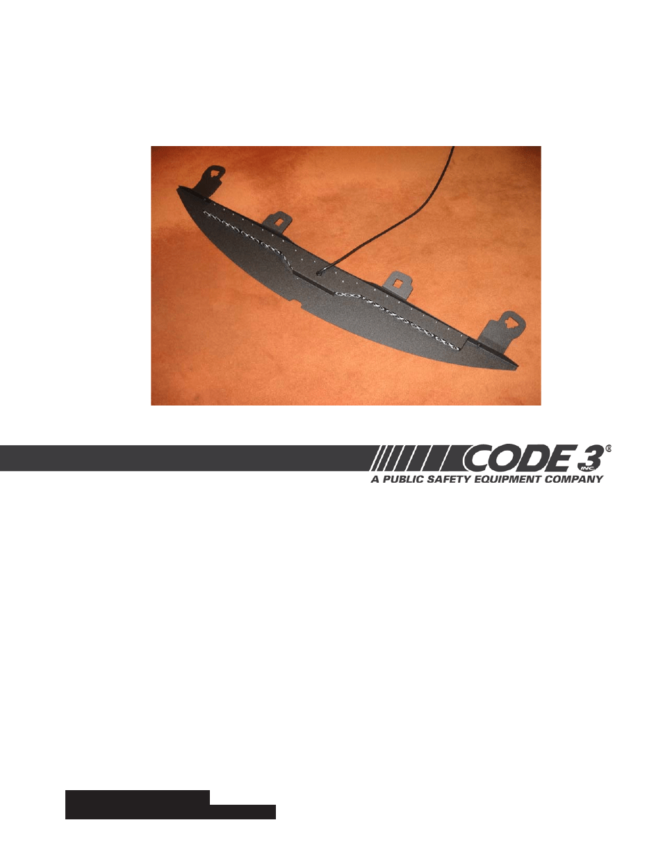 medium resolution of code 3 supervisor tl for 2007 ford expedition user manual 12 pages
