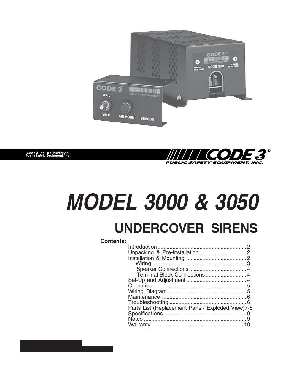 Code 3 Mx7000 Lightbar Wiring Diagram - Wiring Diagram
