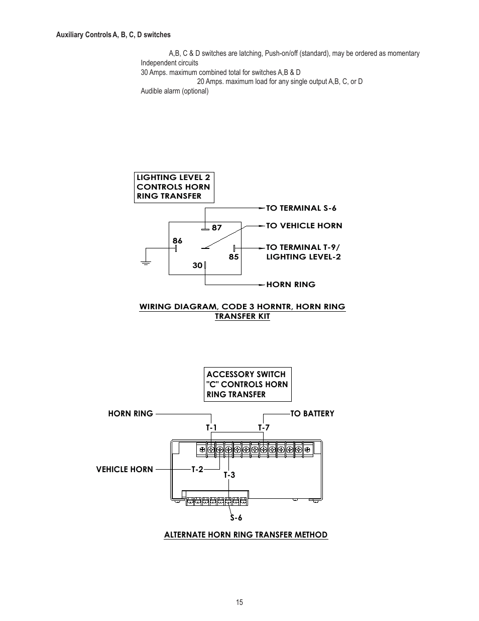 hight resolution of code 3 vcon siren wiring diagram 32 wiring diagram light bar wiring diagram 3 way guitar switch wiring diagram