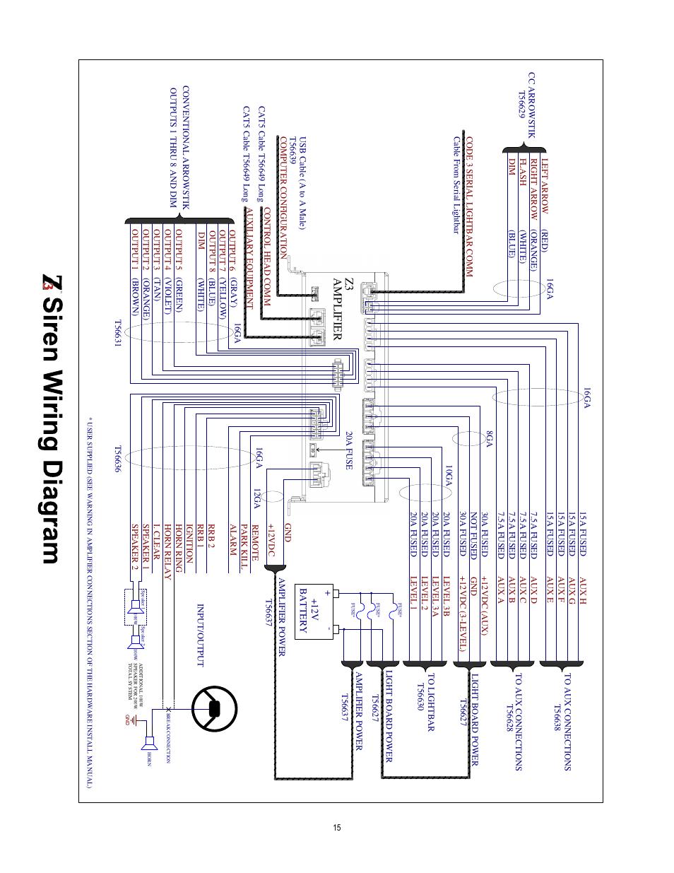 medium resolution of code 3 siren wiring diagram manual e book code 3 siren box model 3892l6 wiring diagram