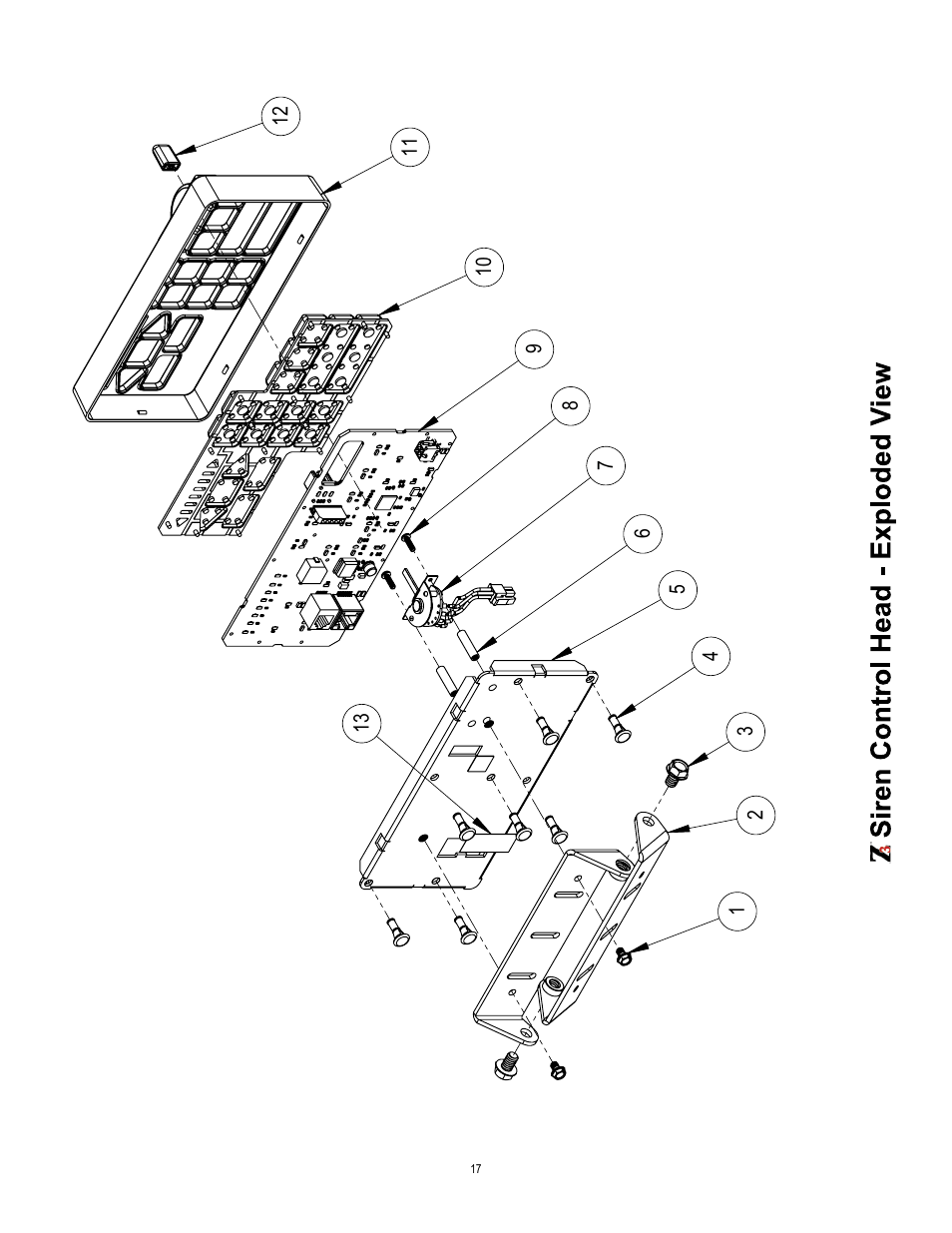 Code 3 Z3 Siren Installation & Operation Manual User