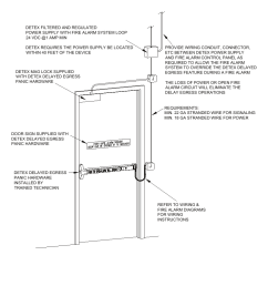 riser diagram detex delayed egress with magnetic lock user manual page 11 16 [ 954 x 1235 Pixel ]