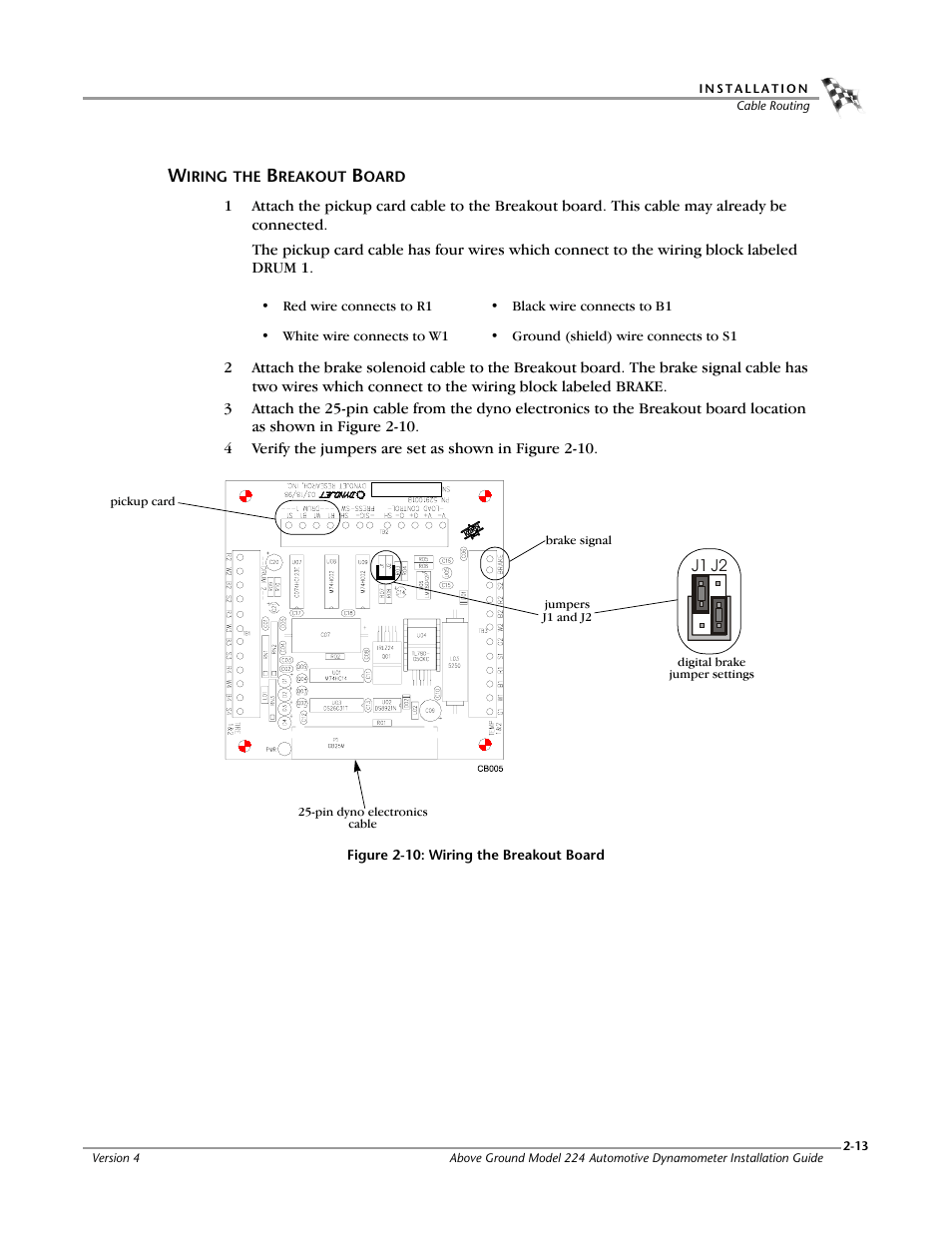 hight resolution of wiring the breakout board dynojet 224x installation guide user manual page 33