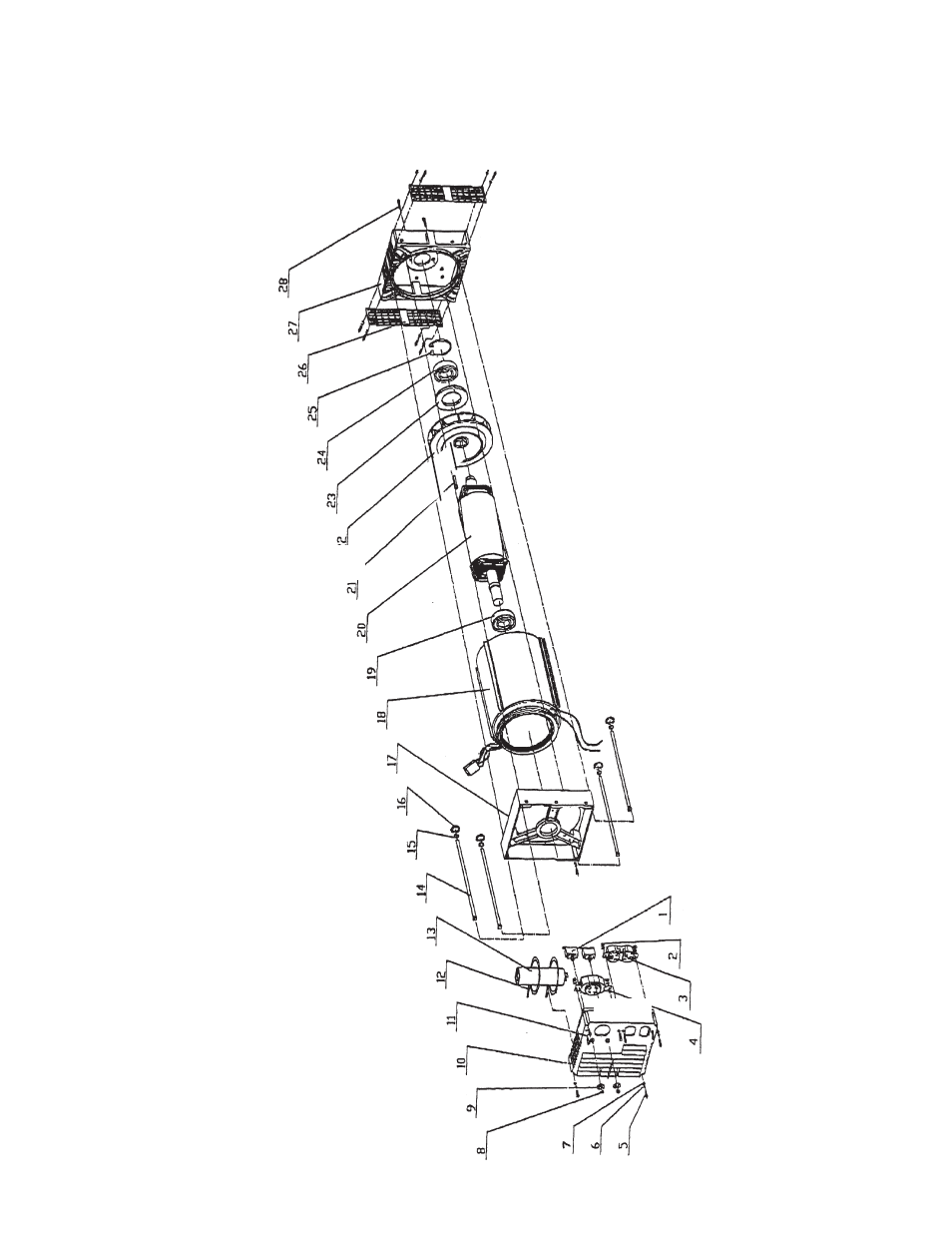 hight resolution of assembly drawing chicago electric chicago power tools 10kw generator 45416 user manual page 10 11