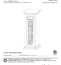 lifesmart infrared heater wiring diagram western star edenpure 1000 wiring diagram quartz tube heater [ 954 x 1235 Pixel ]