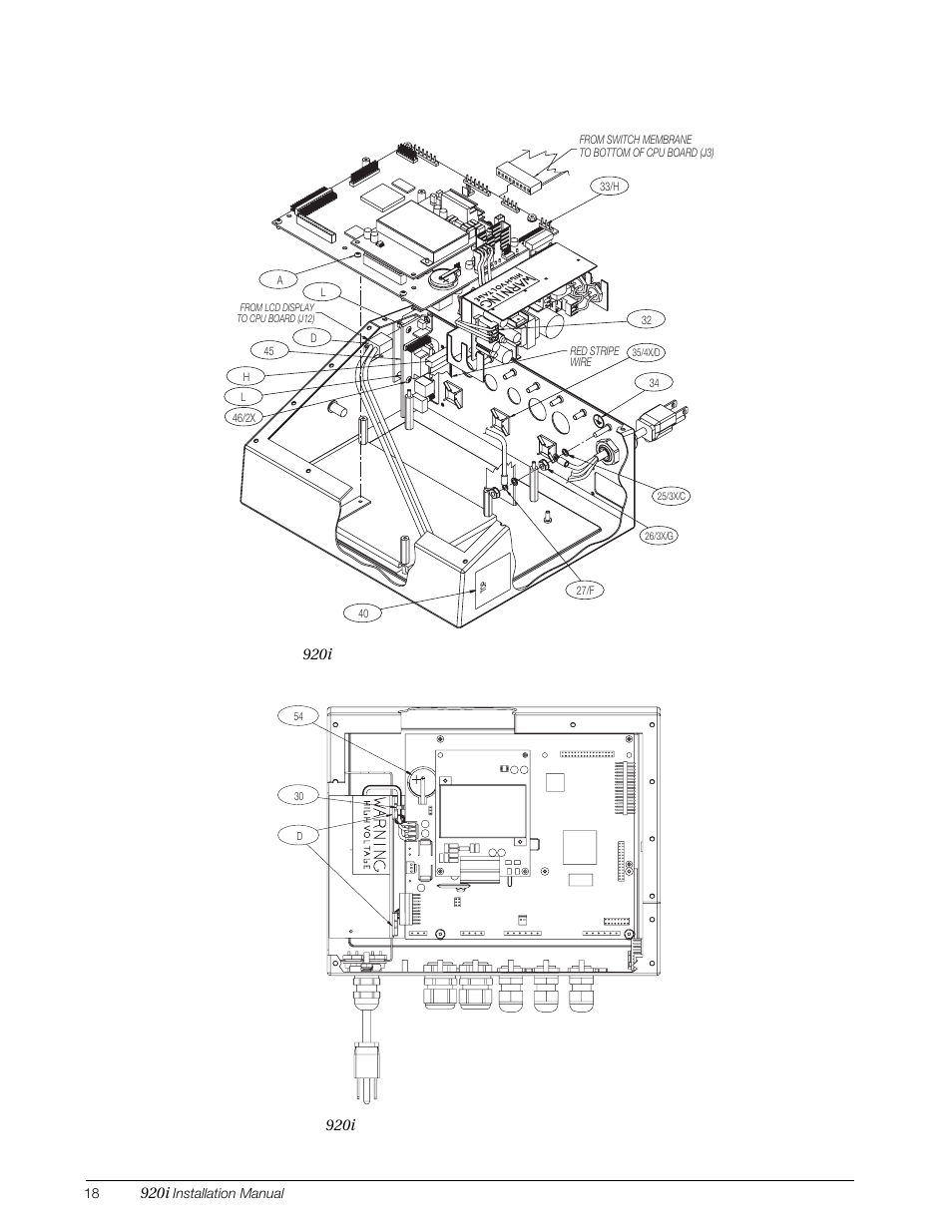 Rice Lake 920i Installation Manual V3.07 User Manual
