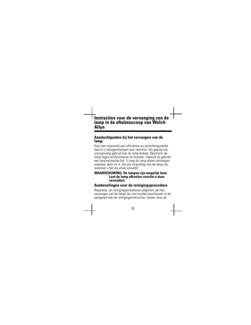 small resolution of welch allyn lamp replacement chart user manual user manual page 43 56