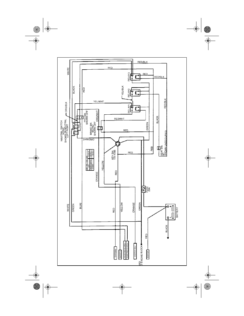 hight resolution of cub cadet electrical diagram