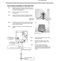 gas control assembly to thermal well bradford white m 2 tw 75t6bn user manual page 27 40 [ 954 x 1235 Pixel ]
