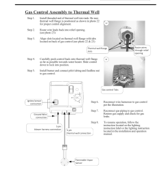 pdx series gas control assembly to thermal well bradford white pdx 75s 70fb 3x user manual page 29 44 [ 954 x 1235 Pixel ]