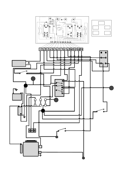 small resolution of tractor wiring diagram countax garden tractor user manual page 23 26