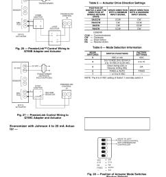 economizer with johnson 4 to 20 ma actua tor carrier premierlink 33cspremlk user manual [ 954 x 1235 Pixel ]