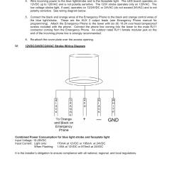talkaphone etp mt blue light emergency phone tower user manual page 2 2 also for etp mt r op5 cctv radius emergency phone tower etp mt r op4 radius  [ 954 x 1235 Pixel ]