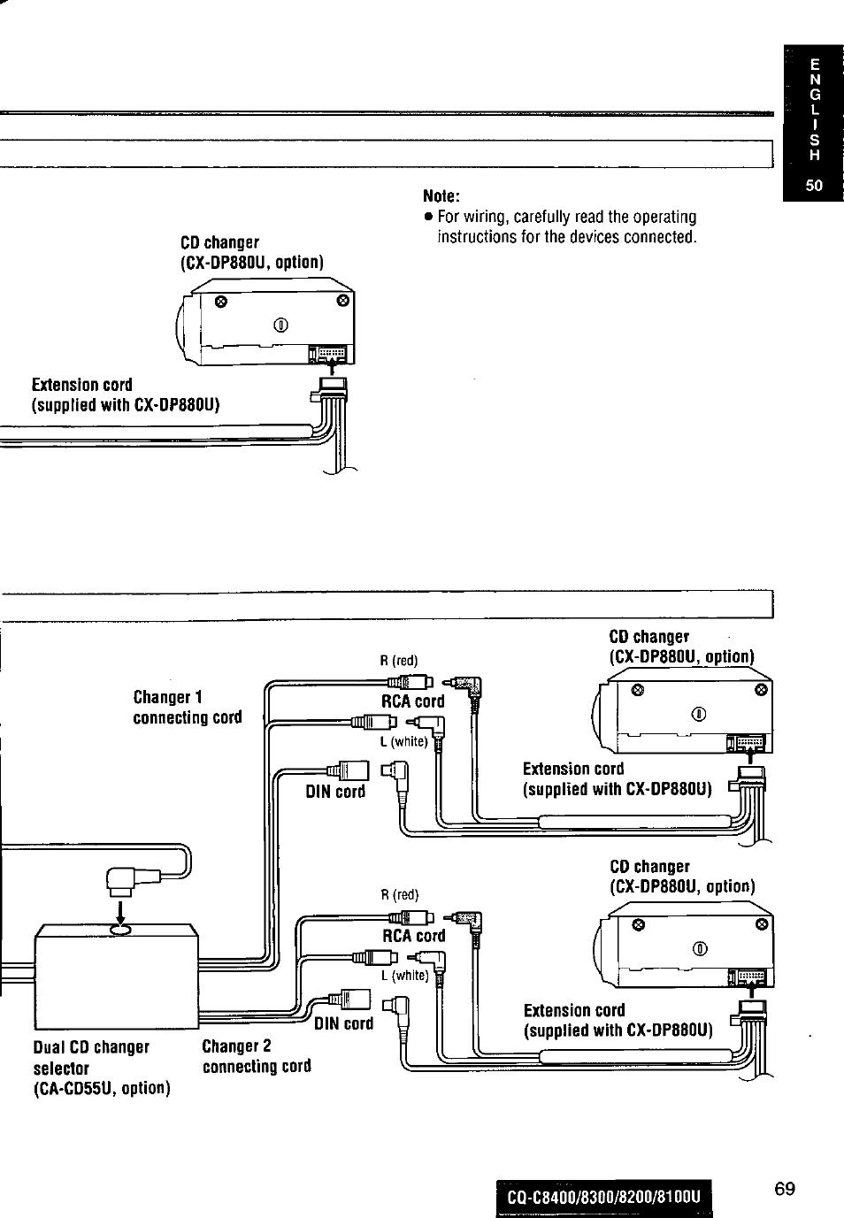 medium resolution of panasonic cq c8100u wiring diagram wiring librarypanasonic cq c8300u user manual page 69 176 also for