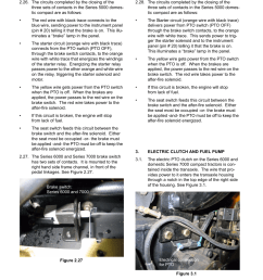 electric clutch and fuel pump domestic compact electrical systems cub cadet 5000 series user manual page 94 96 [ 954 x 1235 Pixel ]