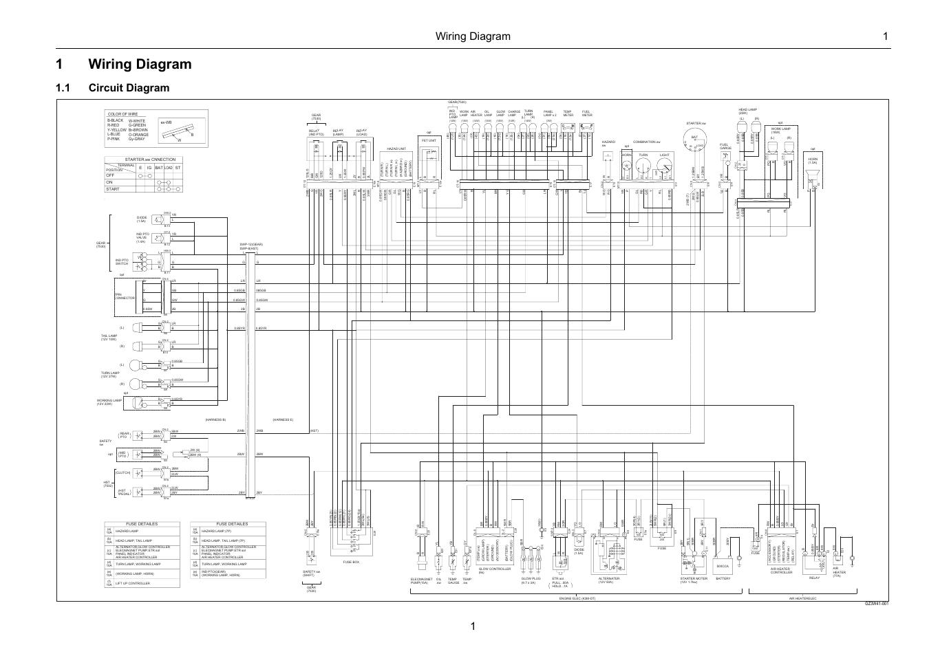 wiring diagramm alpha1 20 40n 150 1999 chevy tahoe engine diagram 1wiring 1 circuit