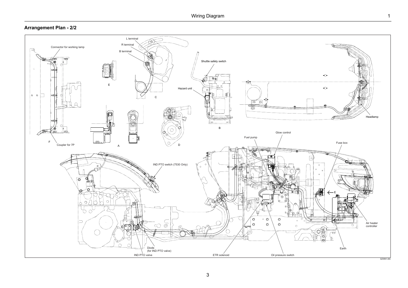 108 Cub Cadet Wiring Diagram Wiring Diagram 1 3 Arrangement Plan 2 2 Cub Cadet 7532