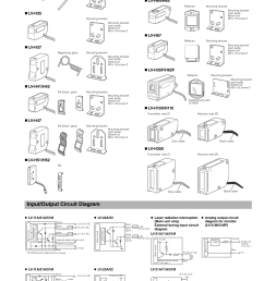 input output circuit diagram sensor head lv series im e keyence lv series user manual page 3 10 [ 954 x 1348 Pixel ]