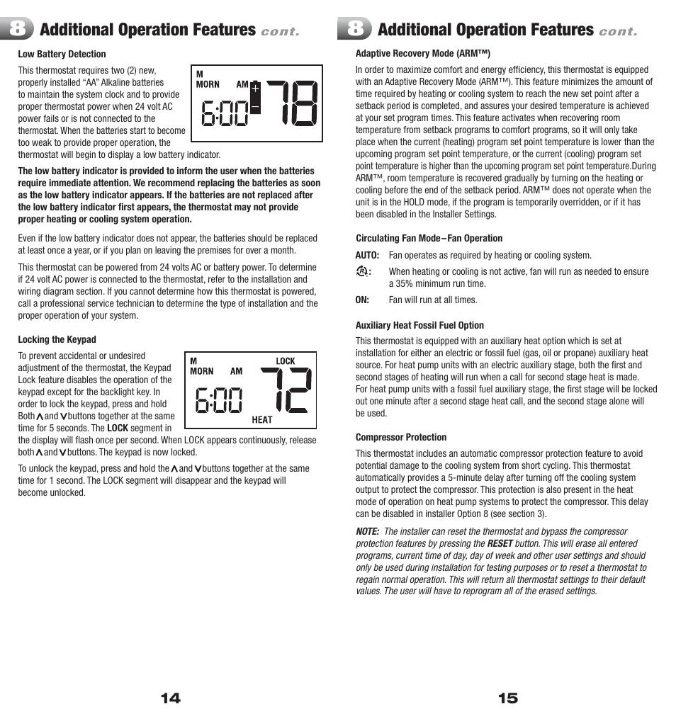 medium resolution of honeywell focuspro 6000 programmable thermostat wiring braeburn 1220nc wiring diagram braeburn 1220nc wiring diagram