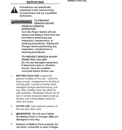 maintenance and servicing chicago electric 12v lithium ion multifunction tool 67707 user manual page 12 15 [ 954 x 1235 Pixel ]