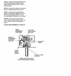 wire connection with frame grounding conductor kenmore washer dryer user manual page 24 66 [ 954 x 1337 Pixel ]
