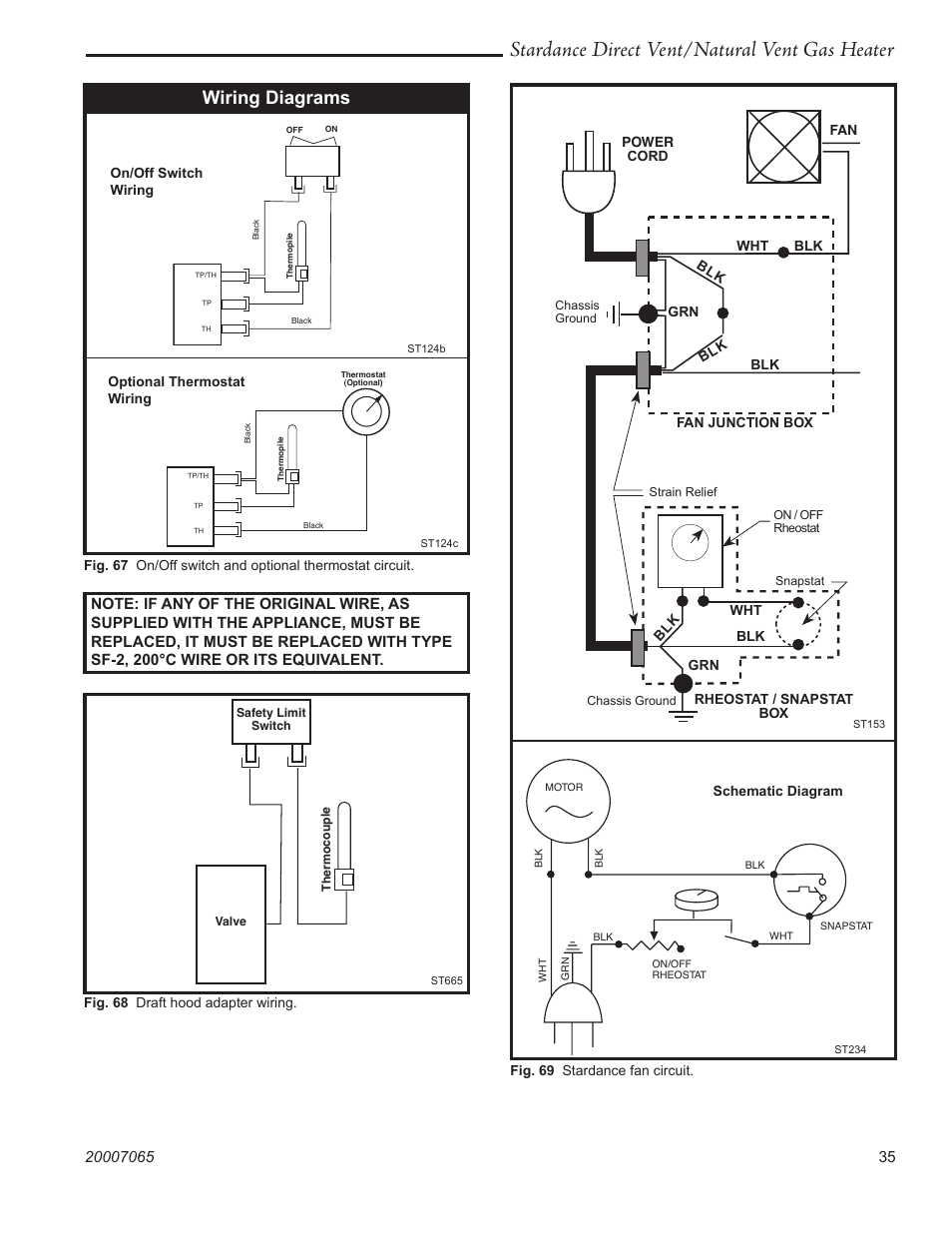 hight resolution of stardance direct vent natural vent gas heater wiring diagrams vermont casting stardance sdv30 user manual page 35 44