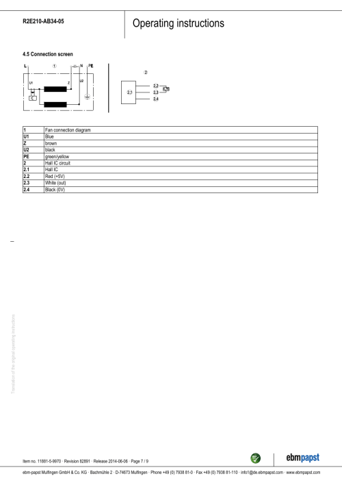 small resolution of operating instructions ebm papst r2e210 ab34 05 user manual page 7 9