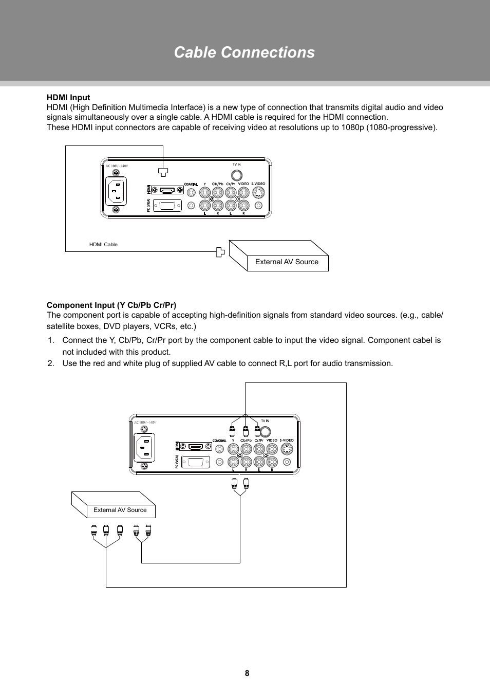 hight resolution of hdmi to component cable diagram