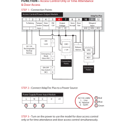wiring diagrams fingertec adaptec plus user manual page 9 20 on access control  [ 954 x 1542 Pixel ]