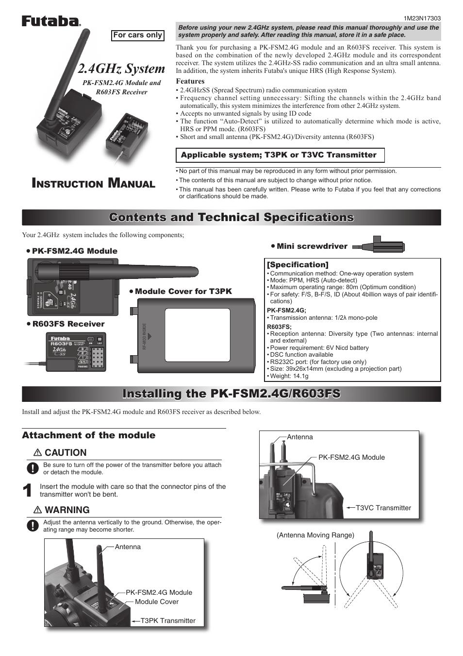FUTABA 3PK MANUAL PDF