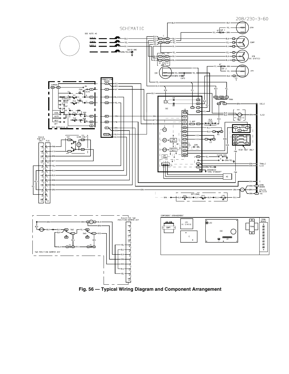 Carrier 48 Series Wiring Diagram : 32 Wiring Diagram