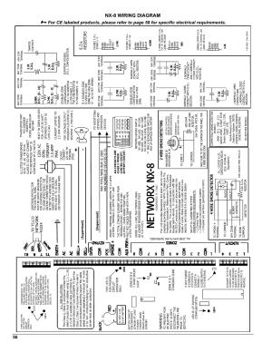 Nx8 wiring diagram   Interlogix NX8 User Manual   Page