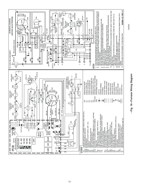 small resolution of 16 furnace wiring diagram carrier weathermaker 8000 58zav user manual page