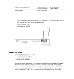 wiring specifications to wire an oat sensor to the controller wiring a co2 sensor carrier rtu open 11 808 427 01 user manual page 30 88 [ 954 x 1235 Pixel ]