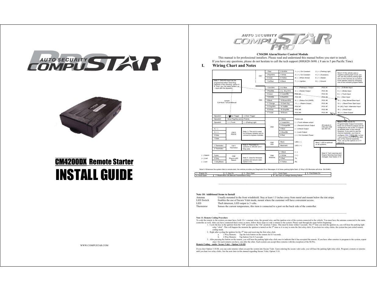 Compustar Remote Start Wiring Diagram : 37 Wiring Diagram