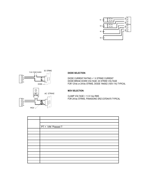 small resolution of alarm contract wiring control output wiring jumper and dip switch usage keri systems