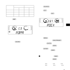 Sony Cdx Ca650x Wiring Diagram Fleetwood Rv Diagrams Setting The Equalizer Selecting Sound Position 23