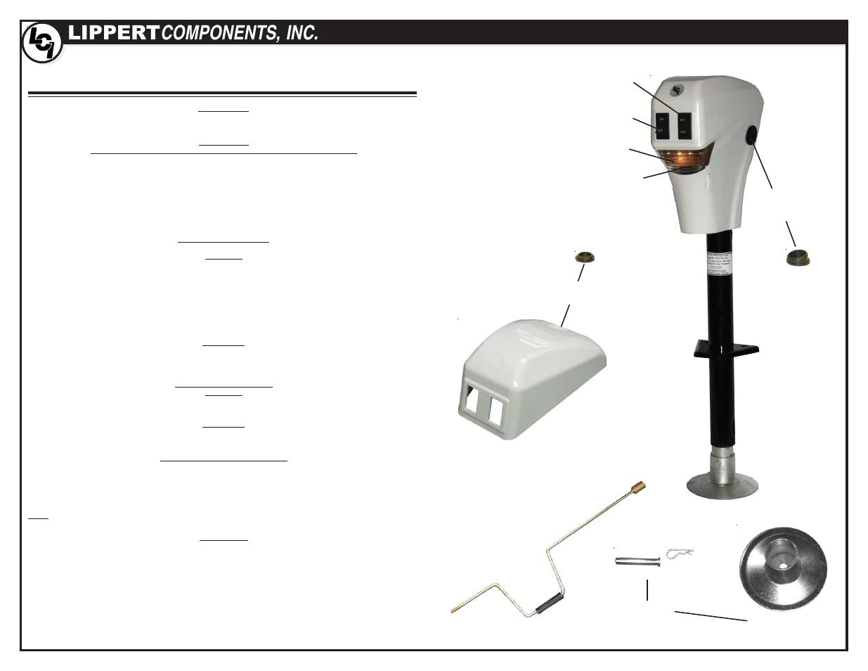 electric trailer jack wiring diagram sunpro super tach ii rv harness