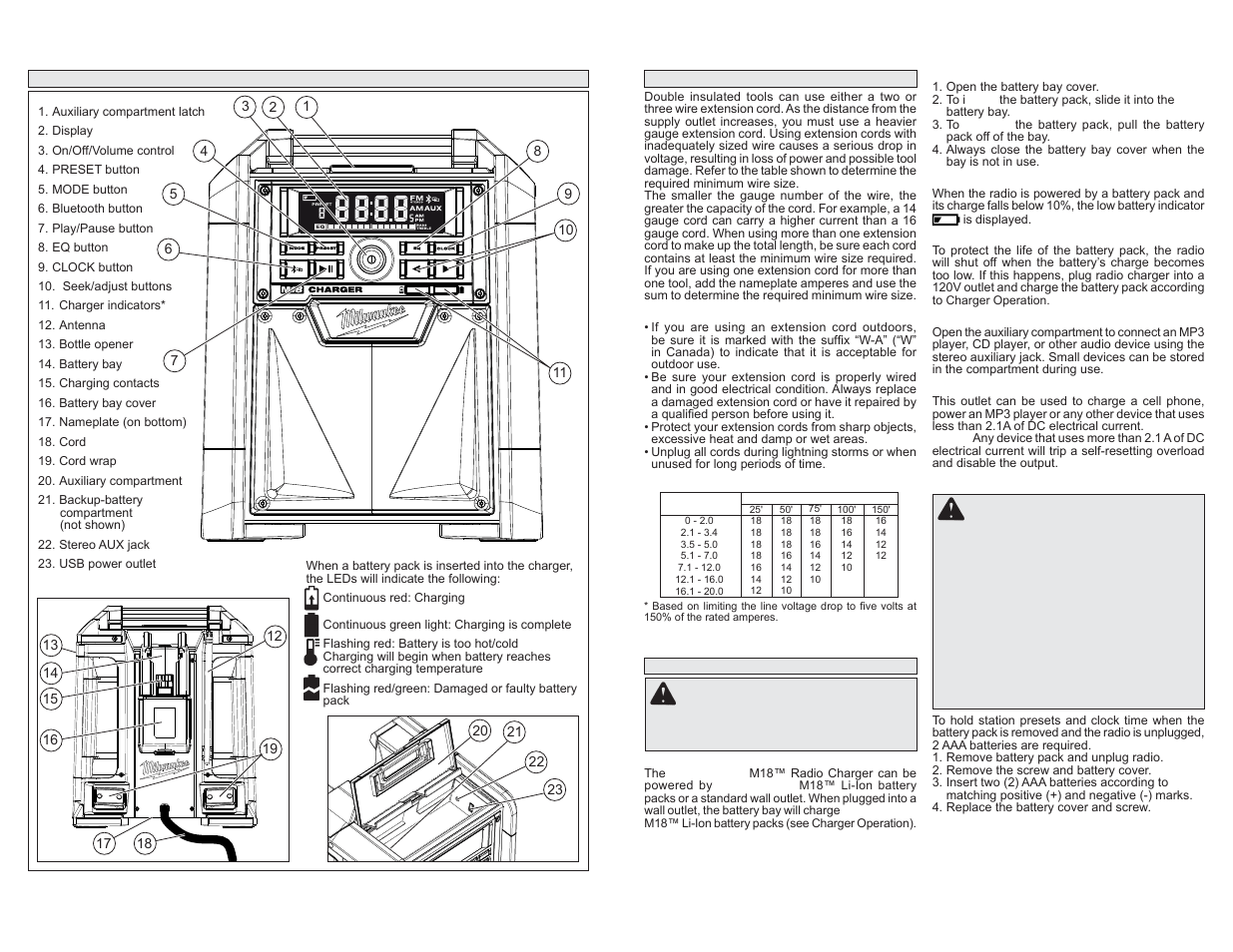 120v wiring diagram types of sand dunes milwaukee tool 2792-20 user manual | page 3 / 13