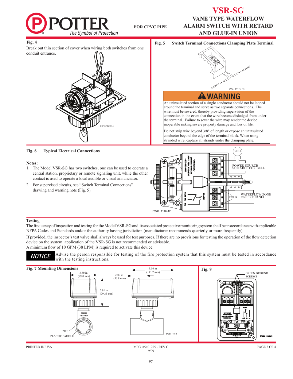 medium resolution of  wiring diagram vsr sg potter releasing systems user manual page 97 108 on fire
